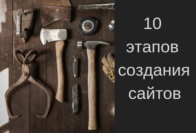 10 этапов создания сайта самостоятельно